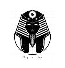 Ozymandias Logo Black Layout-01