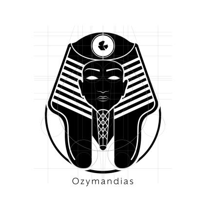 Ozymandias Logo Black Layout-01