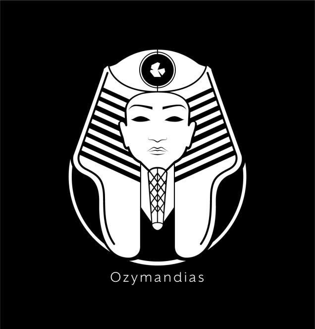 Ozymandias Logo White-01