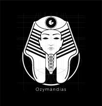 Ozymandias Logo White Layout-01