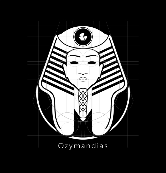 Ozymandias Logo White Layout-01